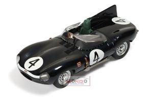 【送料無料】模型車 スポーツカー ジャガータイプチームリア#ルマンネットワークjaguar dtype 34l s6 team ecurie ecosse 4 winner le mans 1956 ixo 143 lm1956