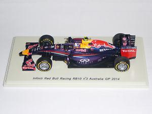 【送料無料】模型車 スポーツカー f1rb10 dricciardoスパークs3086f1 red bull rb10 d ricciardo spark s3086