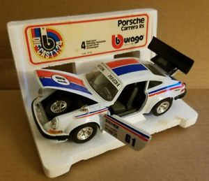 【送料無料】模型車 スポーツカー burago die cast porsche carrera rs in originalbox 124burago die cast porsche carrera rs in original box 124