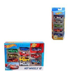 【送料無料】模型車 スポーツカー ホットホイールズ10パック5パック