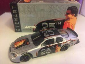 【送料無料】模型車 スポーツカー 2004トニースチュアート12425252004 tony stewart 25th 25 years of hard nose racing 124 scale chevy