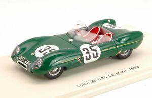 【送料無料】模型車 スポーツカー アリソン#ホールモデルlotus xi 35 collision with a dog lm 1956 c allisonk hall 143 model s2184