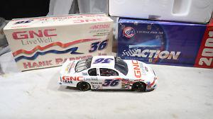【送料無料】模型車 スポーツカー アクションハンクパーカー#モンテカルロaction 124 boxed hank parker jr 36 gnc 2001 monte carlo