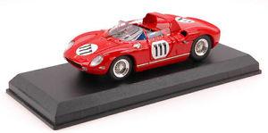 【送料無料】模型車 スポーツカー フェラーリ#モデルモデルferrari 250 p 111 nurburing 1963 143 model 0214 type model