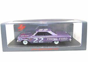 【送料無料】模型車 スポーツカー フォードギャシー#ダーリントンスパークモデルford galaxy 22 winner darlington 1963 spark model