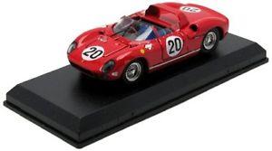 【送料無料】模型車 スポーツカー フェラーリ#ルマンウィンドウモデルferrari 275 p 20 winner le mans 1964 windowvaccarella 143 model artmodel