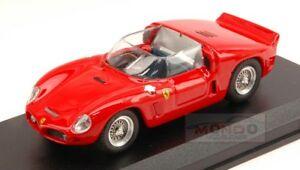 【送料無料】模型車 スポーツカー フェラーリディノ246 sp prova1961ニュー143モデルart259モデルferrari dino 246 sp prova 1961 red resin 143 art model art259 model
