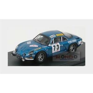 【送料無料】模型車 スポーツカー ルノーアルパイン#タップラリーポルトガルヘrenault alpine a110 73 tap rally portugal 1972 darniche mahe trofeu 143 rral 01