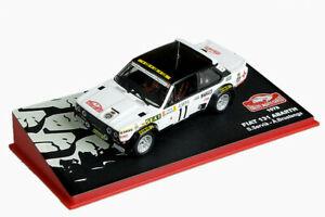 【送料無料】模型車 スポーツカー フィアットアバルトカルロfiat 131 abarthservibrustengamonte carlo 1978 143