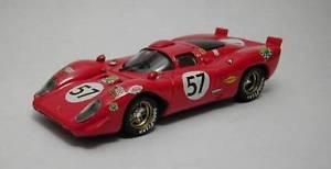 【送料無料】模型車 スポーツカー フェラーリクーペ#モデルモデルferrari 312 p coupe 57 10th lm 1970 adamoviczparson 143 model best models