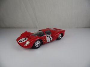 【送料無料】模型車 スポーツカー フェラーリイタリアmx310, brumm ferrari 330 p4 1967 3 143 made in italy