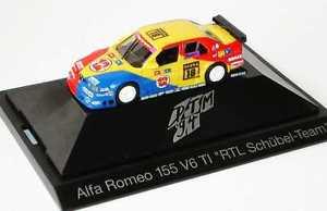 【送料無料】模型車 スポーツカー アルファロメオポイント187 alfa romeo 155 dtm 1994 schbel, rtl point 12 no 18, nissenherpa 036085