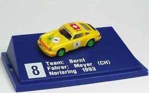 【送料無料】模型車 スポーツカー ポルシェカレラカップブリジットニールセンジーンズマイヤー187 porsche 911 carrera cup 1994 bernt brigitte nielsen jeans 8 meyer