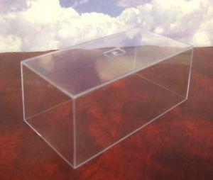 【送料無料】模型車 スポーツカー クリアアクリルボックスエンクロージャreal bizarre 143 clear perspexacrylic box top lid enclosure 140 x 70 x 55mm