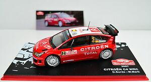 【送料無料】模型車 スポーツカー #citron c4 wrc lacs montecarlo 2007 2 chelle 143
