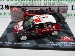 【送料無料】模型車 スポーツカー ネットワークラリービルドカルロcルフェーブルモローrmit 8h 143 ixo rally build carlo citronc 3 wrc 2017 s lefebvreg moreau