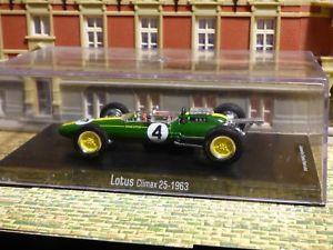 【送料無料】模型車 スポーツカー クライマックスジムクラークコレクション listingf1, 143, lotus climax 25,1963,nr4, jim clark, collection, estate