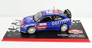 【送料無料】模型車 スポーツカー シトロエンクサララリーモンテカルロ#citroen xsara wrc rally montecarlo 2006 1 escala 143