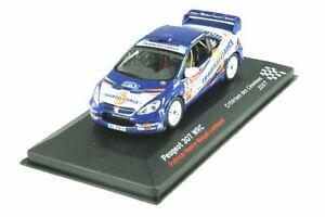 【送料無料】模型車 スポーツカー プジョーヘンリーロンバードpeugeot 307 wrc 2007 cevennes 143 henrylombard