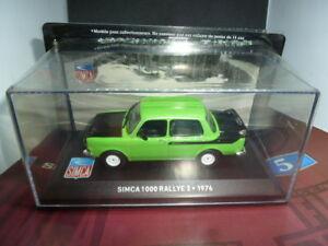 【送料無料】模型車 スポーツカー ラリーブックレットsimca 1000 rallye 2 1976 143 with booklet