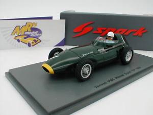 【送料無料】模型車 スポーツカー スパークオランダモスspark s4870 vanwall vw5 no 1 winner dutch gp 1958 moss 143