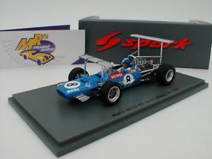 【送料無料】模型車 スポーツカー スパークアフリカグランプリspark s5382 matra ms10 no 8 6th south africa gp 1969 jp beltoise 143