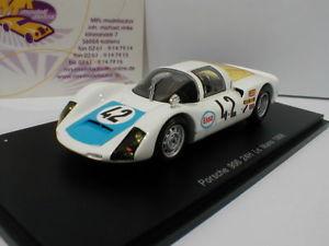 【送料無料】模型車 スポーツカー スパークポルシェルマンspark s4685 porsche 9066 42 24h lemans 1968 poirot, maublanc 143