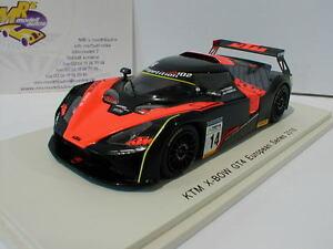 【送料無料】模型車 スポーツカー スパークボウグアテマラグアテマラシリーズspark s5664 ktm xbow gt4 14 gt4 european series 2016 kraihamer 143