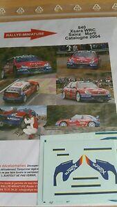 【送料無料】模型車 スポーツカー ディーキャル132840 citroen xsara wrc carlossainz rallyespain 2004decals 132 ref 840 citroen xsara wrc carlos sainz rallye rally