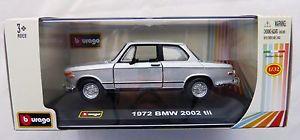 【送料無料】模型車 スポーツカー bburago 1972 bmw 2002 tii in 132 amp; ovp
