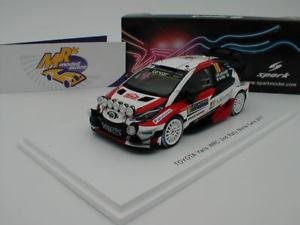 【送料無料】模型車 スポーツカー スパークs5163トヨタyaris wrc10ラリーモンテカルロ2017latvala143spark s5163 toyota yaris wrc no 10 rally monte carlo 2017 latvala 143
