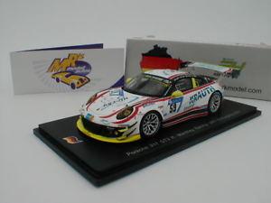 【送料無料】模型車 スポーツカー スパークポルシェグアテマラニュルブルクリンクレースspark sg324 porsche 911 gt3 r 24h nrburgring 2017 59 manthey racing 143