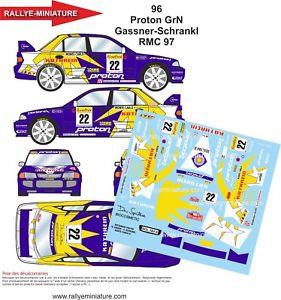 【送料無料】模型車 スポーツカー ステッカー13296 mitsubishi lancerガスナーカーロ1997 wrc
