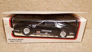 【送料無料】模型車 スポーツカー プラスチックモデルレーシングダッジデイトナ#ブラック