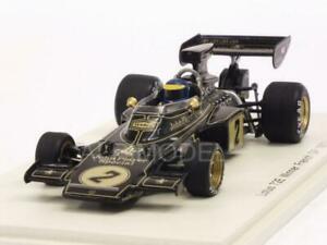 【送料無料】模型車 スポーツカー ロータスフランスロニーピーターソンスパークlotus 72e winner gp france 1973 ronnie peterson 143 spark s7128