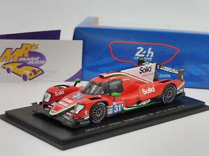 【送料無料】模型車 スポーツカー スパークギブソンルマンspark s7024 oreca 07gibson 31 9th 24h lemans 2018 dragonspeed 143