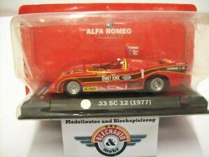【送料無料】模型車 スポーツカー アルファロメオ33 sc 121300kmサルツブルグ1977rcsovp 143alfa romeo 33 sc 12 1 300 km salzburg ring 1977, red, rcs 143, ovp