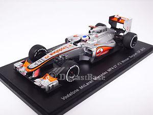 【送料無料】模型車 スポーツカー スパークマクラーレンベルギーグランプリボタンボーダフォンspark s3046 143 mclaren mp427 belgium grand prix winner 2012 button vodafone