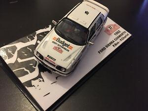 【送料無料】模型車 スポーツカー フォードcosworth bosモンテcarlo 1992wrc 143ford sierra cosworth bos rally monte carlo 1992 rally wrc 143