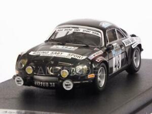 【送料無料】模型車 スポーツカー アルパインルノーラリーサビーalpine a110 renault rac rally 1978 sabyguegan 143 trofeu rruk 03