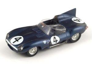 【送料無料】模型車 スポーツカー ジャガータイプルマンスパークボックスjaguar type d n 4 winner le mans 1956 43lm56 spark 143 in a box rare