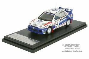 【送料無料】模型車 スポーツカー ランサーエボラリーニュージーランドリチャードバーンズmitsubishi lancer evo iii rally zealand 1996 richard burns 143 hpi 8553m