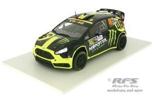 【送料無料】模型車 スポーツカー フォードフィエスタロッシモンスターモンツァラリーショーネットワークford fiesta rs wrc valentino rossi monster monza rally show 2014 118 ixo