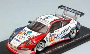 【送料無料】模型車 スポーツカー ポルシェアリディスパークporsche 911 gt3 rsr n76 31th lm 2014 naracarmindohallyday 143 spark s4234 mo