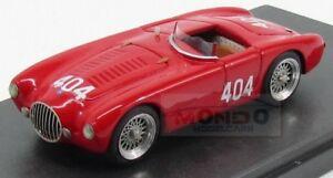 【送料無料】模型車 スポーツカー クモ#ミッレミリアジョリーモデルファッションosca mt4 spider 404 mille miglia 1956 a brandi red jolly model 143 jl6017 fashion