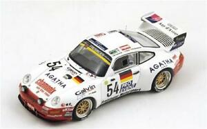 【送料無料】模型車 スポーツカー ポルシェスパークメートルporsche 911 biturbo n54 19th lm 1995 kaufmannhaneligonnet 143 spark s0993 m