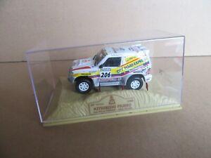 【送料無料】模型車 スポーツカー パジェロ#パリダカールラリー131i mitsubishi pajero norev 206 paris dakar rally 1998 143