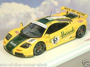 【送料無料】模型車 スポーツカー tsm truescale 143ハロッズマクラレンf1 gtr513aルマン1995wallaceベルtsm truescale 143 harrods mclaren f1 gtr 51 3 le mans 1995 wallace be
