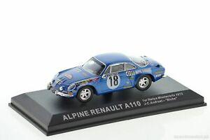 【送料無料】模型車 スポーツカー ルノーモンテカルロネットワークwrc renault a110 andruet monte carlo 1973 143 ixoaltaya
