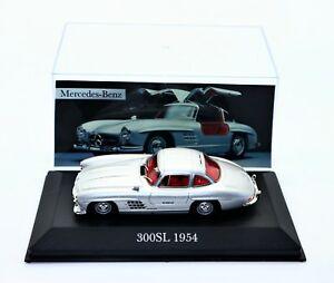 【送料無料】模型車 スポーツカー 143mercedesベンツ300sl 1954143 atlas mercedesbenz 300sl 1954